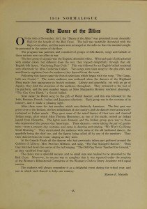 1918 Dance of the Allies Text