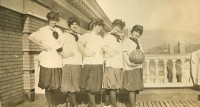 The Basketball Team, c. 1915.