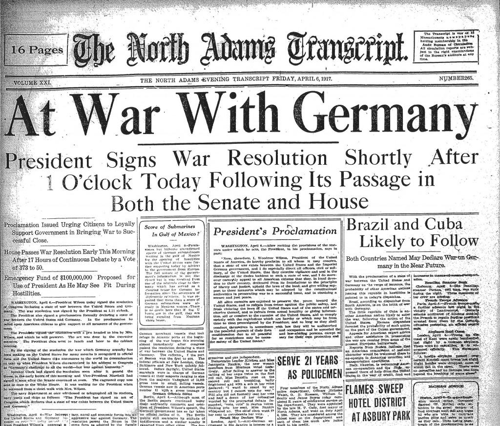 April 6th, 1917.