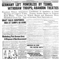 November 11, 1918.