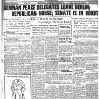 November 6, 1918.