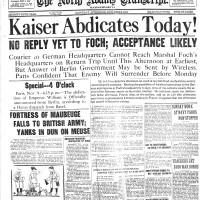 November 9, 1918.